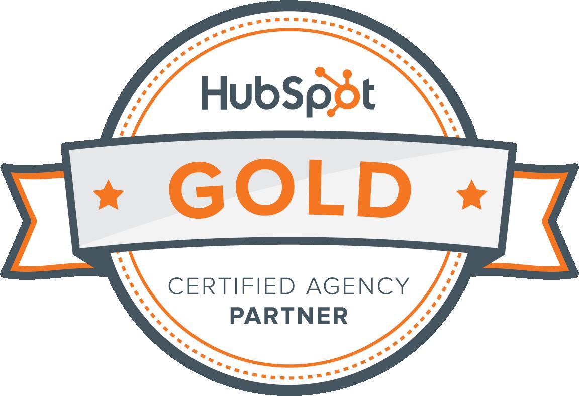 ¡Somos agencia HubSpot Gold Partner!